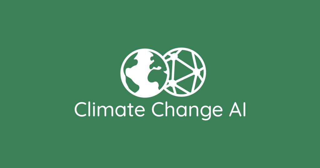 Climate change and AI logo