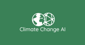 Climate change and AI logo