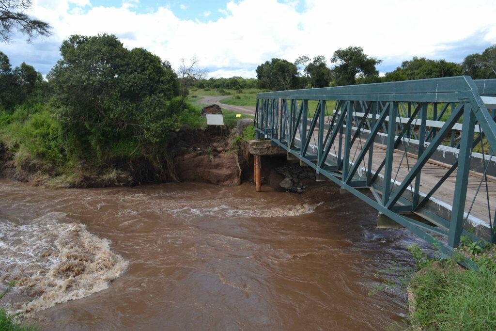 The Ewaso Nyiro River in Kenya