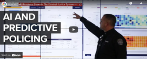 screen capture of video AI and predictive policing