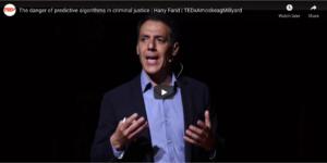Screen capture of TedX talk video