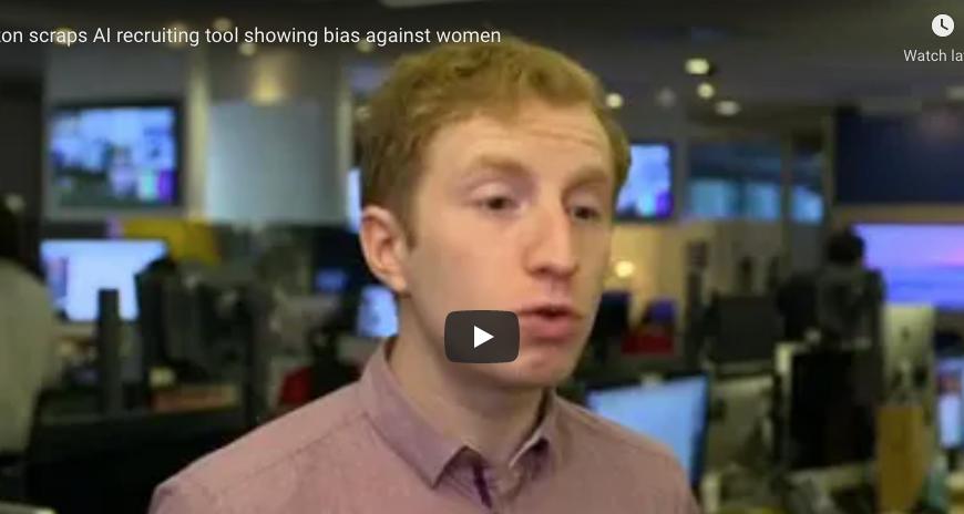 Amazon scraps AI recruiting tool showing bias against women
